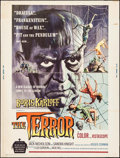 """Movie Posters:Horror, The Terror (American International, 1963). Poster (30"""" X 40""""). Horror.. ..."""