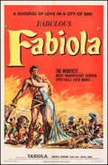 "Movie Posters:Drama, Fabiola (United Artists, 1951). One Sheet (27"" X 41""). Drama.. ..."