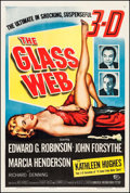 "Movie Posters:Crime, The Glass Web (Universal International, 1953). One Sheet (27"" X41""). 3D Style. Crime.. ..."