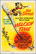 """Movie Posters:Animation, Melody Time (RKO, 1948). One Sheet (27"""" X 41""""). Animation.. ..."""