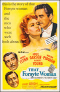 "Movie Posters:Romance, That Forsyte Woman (MGM, 1949). One Sheet (27"" X 41""). Romance.. ..."