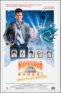 "The Adventures of Buckaroo Banzai Across the 8th Dimension (20th Century Fox, 1984). One Sheet (27"" X 41""). Sc..."