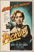 "Movie Posters:Bad Girl, Pickup (Columbia, 1951). One Sheet (27"" X 41""). Bad Girl.. ..."