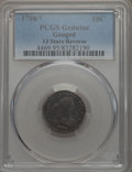Early Dimes, 1798/97 10C 13 Stars Reverse, JR-2, R.6 -- Gouged -- PCGSGenuine....