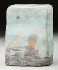 Asian:Chinese, A Chinese Scholar's Rock. 7 h x 5-1/2 w x 2-1/2 d inches (17.8 x14.0 x 6.4 cm). ...
