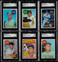 Baseball Cards:Sets, 1969 Topps Baseball Complete Set (664) With 12 Variations. ...