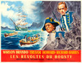 "Movie Posters:Adventure, Mutiny on the Bounty (MGM, 1962). French Four Panel (124"" X 93"")Roger Soubie Artwork.. ..."