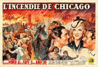 "In Old Chicago (20th Century Fox, 1937). French Double Grande (63"" X 91.5"") E. Florit Artwork"