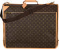 "Luxury Accessories:Bags, Louis Vuitton Classic Monogram Canvas Garment Bag. GoodCondition. 23"" Width x 19"" Height x 6"" Depth. ..."
