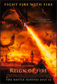 "Reign of Fire & Others Lot (Buena Vista, 2002). One Sheets (3) (27"" X 40"") DS Advance. Action. ... (Total:..."