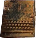 Military & Patriotic:WWII, Original WWII German Navy (Kriegsmarine) 4-Rotor M4 Enigma Enciphering Machine Recovered From the Wreck of the Ger...