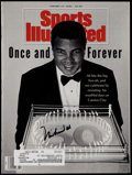 """Boxing Collectibles:Autographs, 1992 Muhammad Ali Signed """"Sports Illustrated"""" Magazine. ..."""