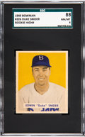 Baseball Cards:Singles (1940-1949), 1949 Bowman Duke Snider #226 SGC 88 NM/MT 8....