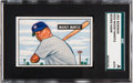 Baseball Cards:Singles (1950-1959), 1951 Bowman Mickey Mantle #253 SGC Authentic....