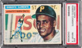 Baseball Cards:Singles (1950-1959), 1956 Topps Roberto Clemente (White Back) #33 PSA NM-MT 8....