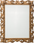 Decorative Arts, Continental, A Continental Italianate Giltwood Framed Mirror, early 20thcentury. 38-1/2 inches high x 31 inches wide (97.8 x 78.7 cm). ...