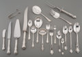Silver Flatware, American:Reed & Barton, A One Hundred and Fifty-One Piece Reed & Barton GeorgianRose Pattern Silver Flatware Service, Taunton, Massachu...(Total: 151 Items)