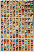 Hockey Cards:Lots, 1974 O-Pee-Chee Hockey Uncut Sheets (3). ...