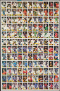 Hockey Cards:Lots, 1987 O-Pee-Chee Hockey Uncut Sheets (2) - Complete Set. ...