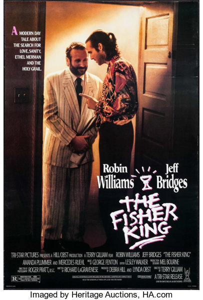 The Fisher King Tri Star 1991 Identical One Sheets 25 27