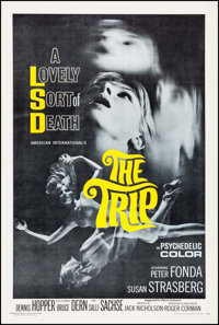 "The Trip (American International, 1967). One Sheet (27"" X 41""). Exploitation"
