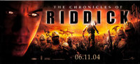 "The Chronicles of Riddick (Universal, 2004). 30 Sheet (125"" X 204""). Science Fiction"