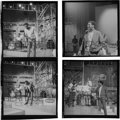 Music Memorabilia:Photos, Otis Redding - Group of Four Original Black and White Negativeswith Full Copyright (1966)....