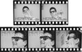 Music Memorabilia:Photos, Roy Orbison - Strip of Five Black and White Negatives with FullCopyright (1966/67)....