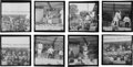 Music Memorabilia:Photos, Rolling Stones - Group of Fifteen Black and White Negatives withFull Copyright (1969)....
