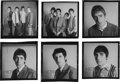 Music Memorabilia:Photos, The Who - Group of Six Original Black and White Negatives with FullCopyright (1965)....