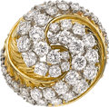 Estate Jewelry:Rings, Diamond, Gold Ring, McTiegue. ...