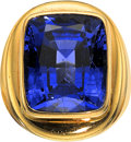 Estate Jewelry:Rings, Tanzanite, Gold Ring. ...