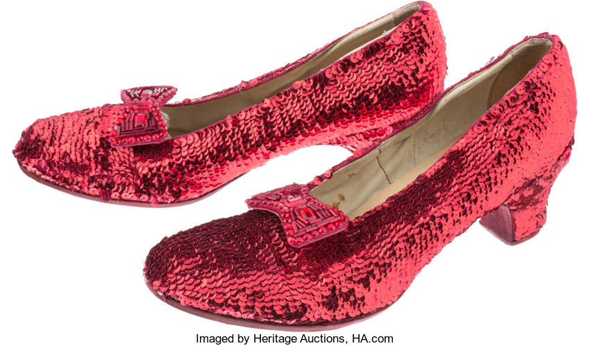 A Tammy Blanchard Pair Of Wizard Of Oz Related Exact Replica Ruby Lot 89032 Heritage Auctions