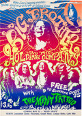 Music Memorabilia:Posters, Janis Joplin/Big Brother And The Holding Company Selland ArenaConcert Poster AOR-3.30 (Baba Love Company, 1968). Very Rare....