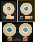 Music Memorabilia:Awards, Night Ranger - Group of Gold Record Sales Awards (Camel/MCA, 1982-87).... (Total: 3 )