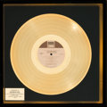 Music Memorabilia:Awards, Stevie Wonder Talking Book In-House Gold Record Award (TamlaT 319L, 1972)....