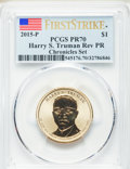2015-P $1 Harry S. Truman, First Strike, Reverse Proof, PR70 PCGS. PCGS Population: (103). NGC Census: (0). ...(PCGS# 54...