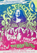 Music Memorabilia:Posters, Big Brother & the Holding Company Selland Arena ConcertHandbill (Baba Love Company, 1968). Rare....