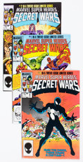 Modern Age (1980-Present):Superhero, Marvel Super Heroes Secret Wars I and II Complete Series Group of21 (Marvel, 1984-86) Condition: Average FN/VF.... (Total: 21 ComicBooks)