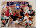 Baseball Collectibles:Photos, Baseball Catchers Greats Multi-Signed Oversized Photograph. ...