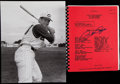Baseball Collectibles:Publications, Pete Rose Signed Dowd Report With Photograph....