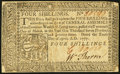 Colonial Notes:Pennsylvania, Pennsylvania April 10, 1777 4s Very Fine-Extremely Fine.. ...