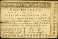 Colonial Notes:North Carolina, North Carolina May 15, 1779 $5 Be Freedom and Independence SteadilyPursued Very Fine.. ...