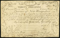 Colonial Notes:New Hampshire, New Hampshire April 3, 1755 Redated June 1, 1756 Cohen Reprint 30sVery Fine.. ...