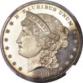 Patterns, 1880 $1 Metric Dollar, Judd-1645, Pollock-1845, High R.6, PR64+ Cameo NGC....