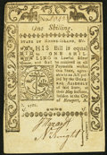Colonial Notes:Rhode Island, Rhode Island May 1786 1s Very Fine-Extremely Fine.. ...