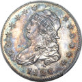 Proof Bust Quarters, 1820 25C Browning 4, Small 0 PR64 PCGS Secure. CAC....