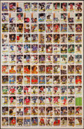Hockey Cards:Lots, 1981 O-Pee-Chee Hockey Uncut Sheets (2). ...