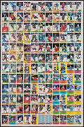 Hockey Cards:Lots, 1980 O-Pee-Chee Hockey Uncut Sheets (2). ...