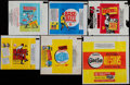 Baseball Cards:Unopened Packs/Display Boxes, 1960's-1970's Topps & Fleer Baseball Wrapper Collection (16)....
